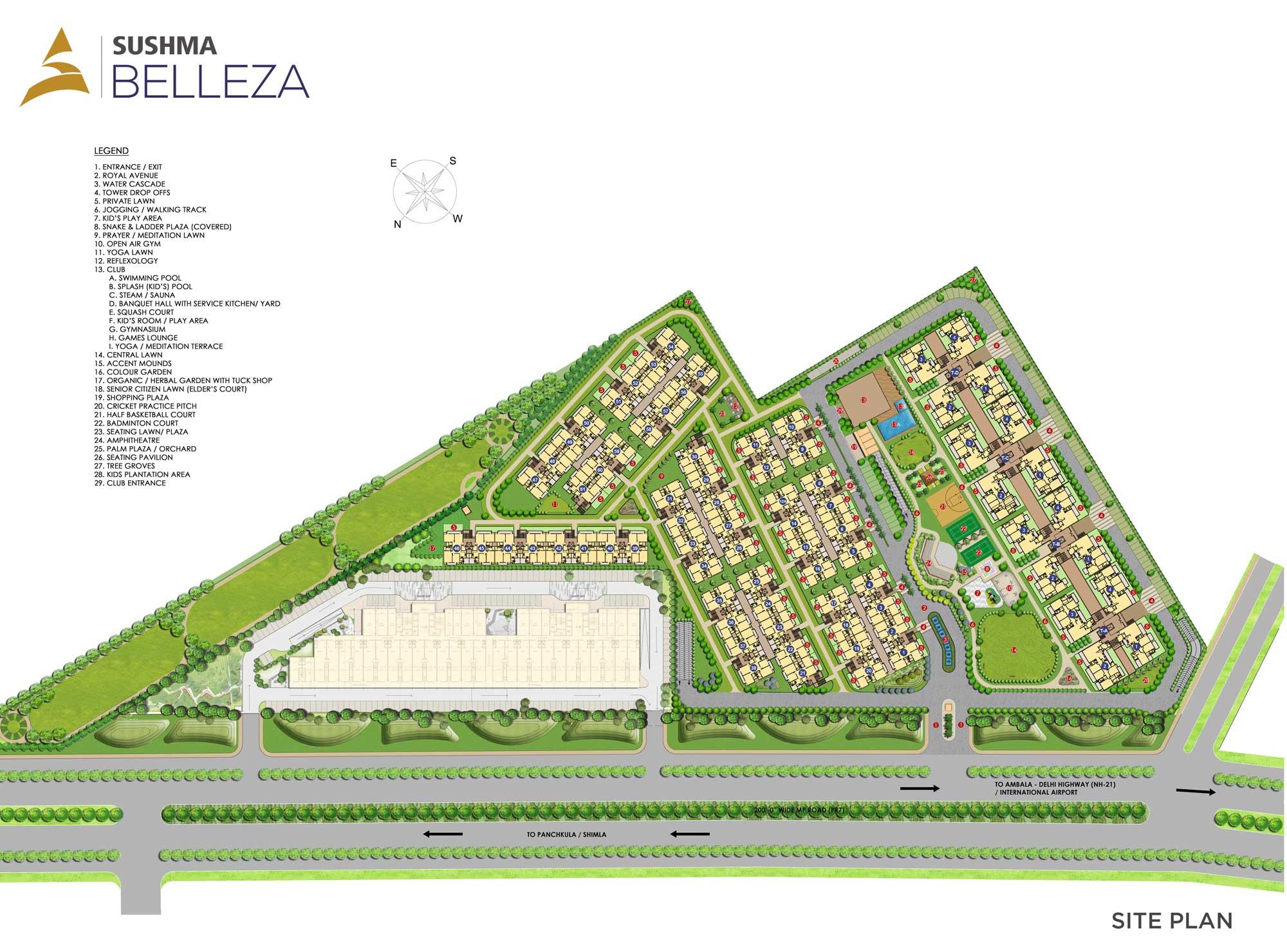 Sushma Belleza Master Plan