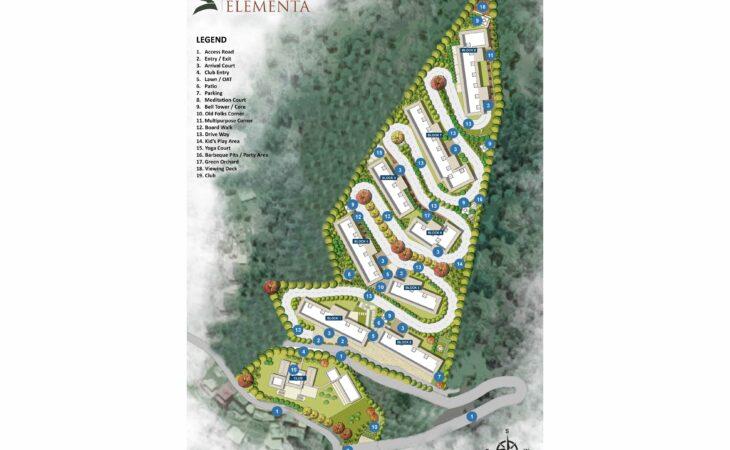 Sushma Elementa Site Plan