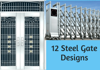 12 Steel Gate Design Ideas for Your Home with Photos