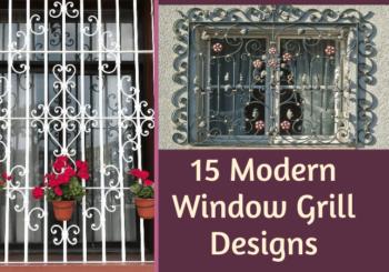 window grill design baroque style