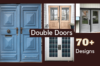 50 Double Door Design Catalogue 2021 with Photos