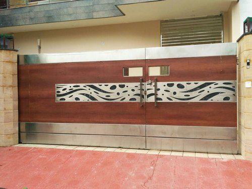 Fancy Steel Gate Design