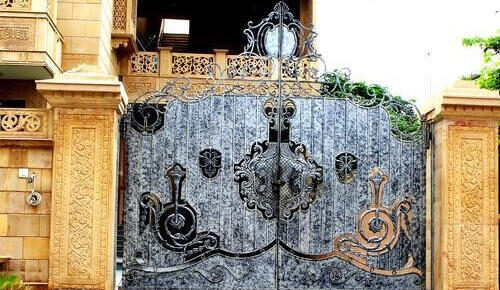 outdoor front gate design