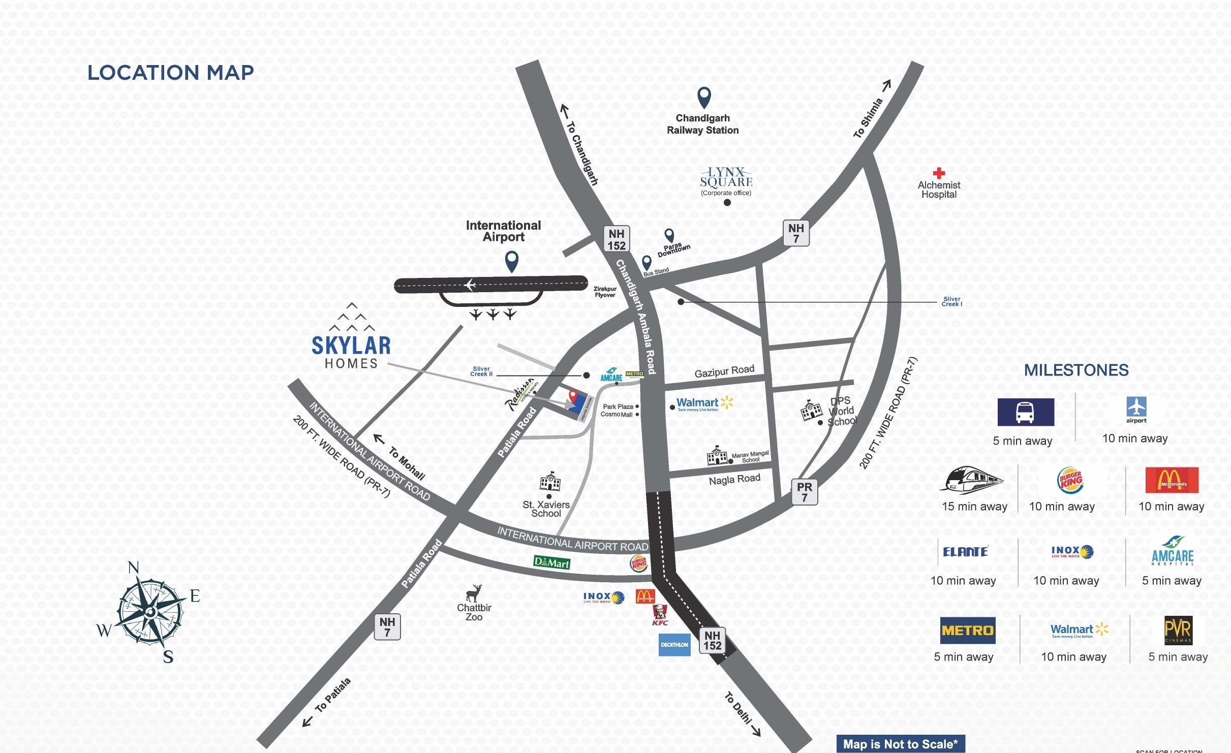 Skylar Homes Location Map