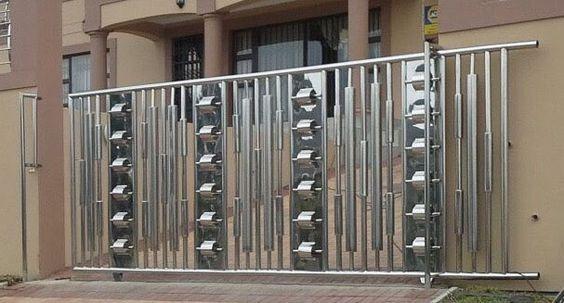steel sliding gate design