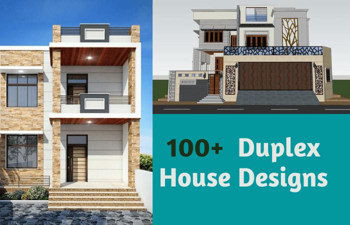 100 Duplex House Design Ideas (2022)
