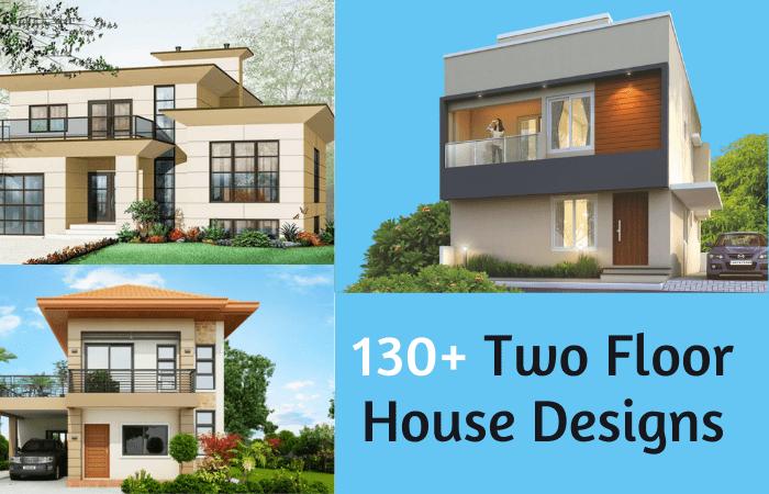 130+ 2 Floor House Design Ideas