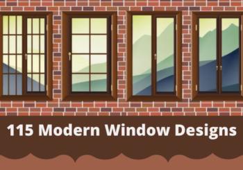 115 Modern Window Designs